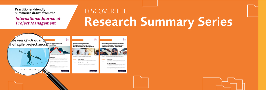 <H1>APM Research Summary Series</h1>