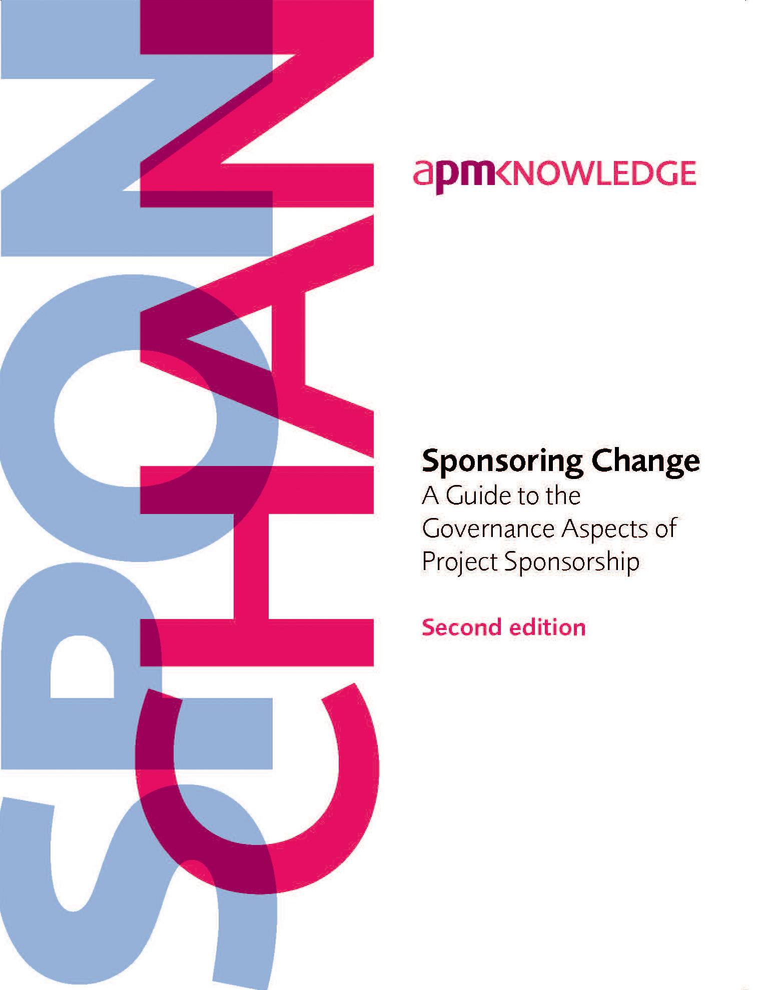 Sponsoring Change, 2nd edition