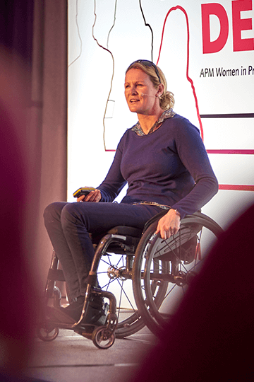 Claire Lomas MBE at WiPM 2019