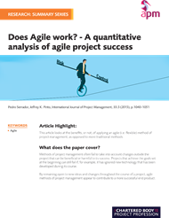 Does agile work?