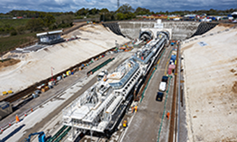 HS2 launches largest ever tunnel-boring machine