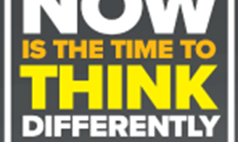 Now is the time to think differently
