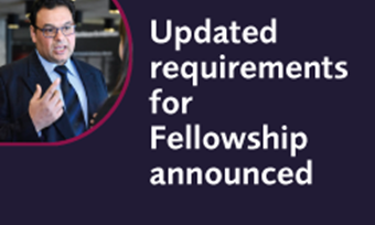 Updated requirements for Fellowship announced