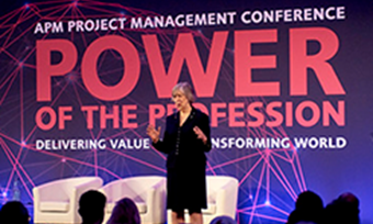 Attendees to the Association for Project Management Conference London 2019 show a real appetite and desire to move forward as a profession