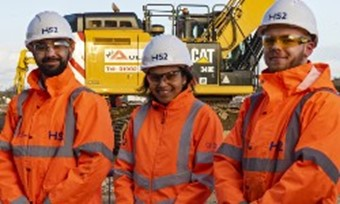 Work officially starts on the HS2 rail project with creation of 22,000 jobs