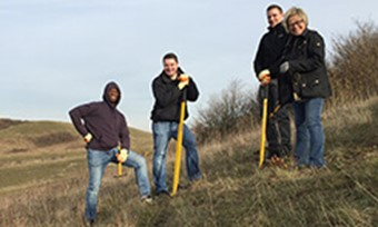 APM's Technology team enjoy the day volunteering at National Trust's Ashridge Estate